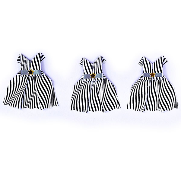 Origami Inside - 3 origami dresses in a row