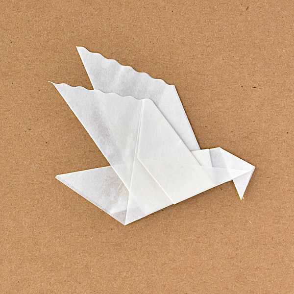 Christmas origami card - buy from Origami Inside