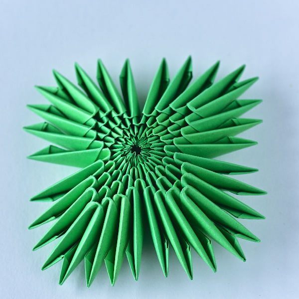 Star sculpture - Origami Inside - Origami cards and sculptures for sale online at Origami Inside - helping prisoner rehabilitation