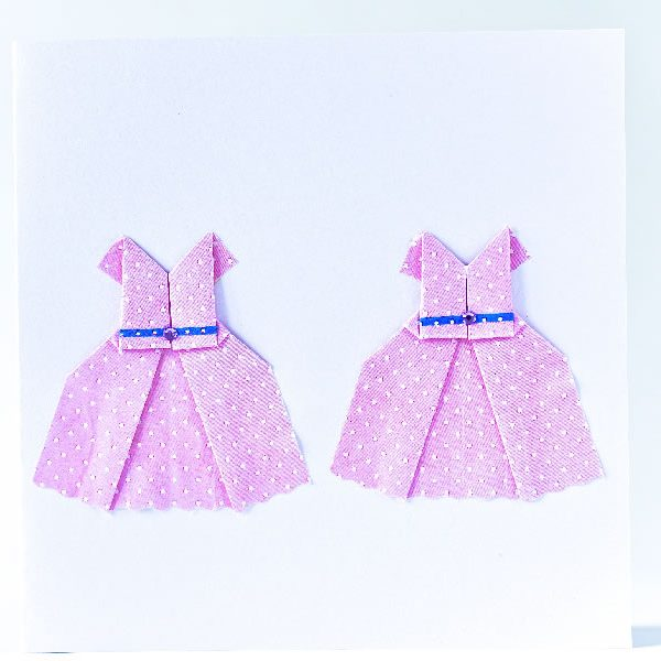 Wedding card - Origami Inside - Origami cards and sculptures for sale online at Origami Inside - helping prisoner rehabilitation