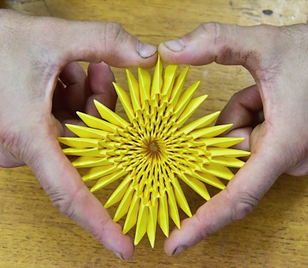 Donate to Origami Inside. Origami Inside is a project teaching prisoners the art of origami in order to raise funds for prisoner rehabilitation.